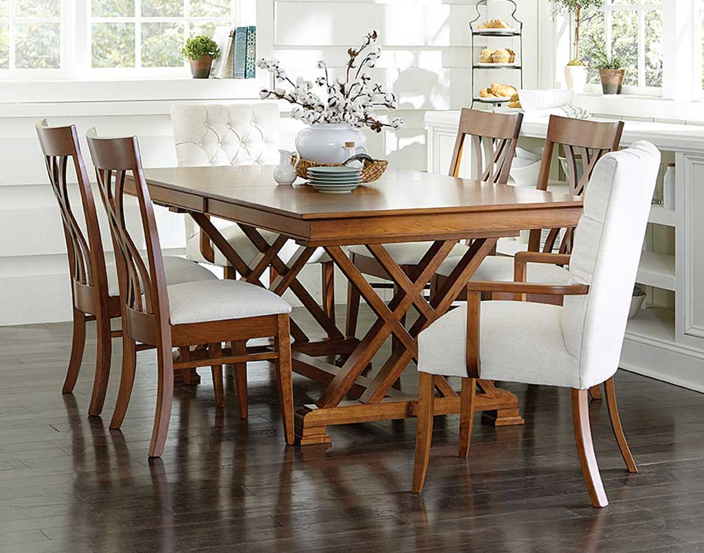 Dining Table Amish Direct Furniture, Amish Dining Room Furniture